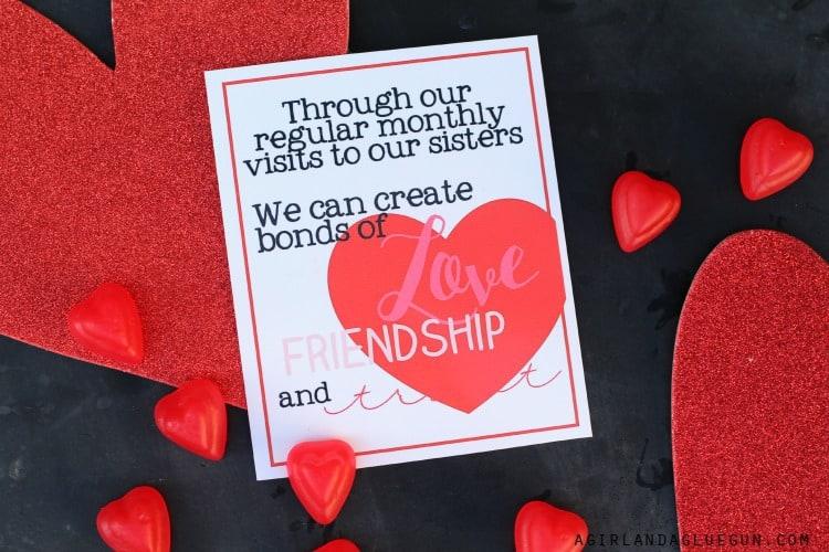 Valentines handouts