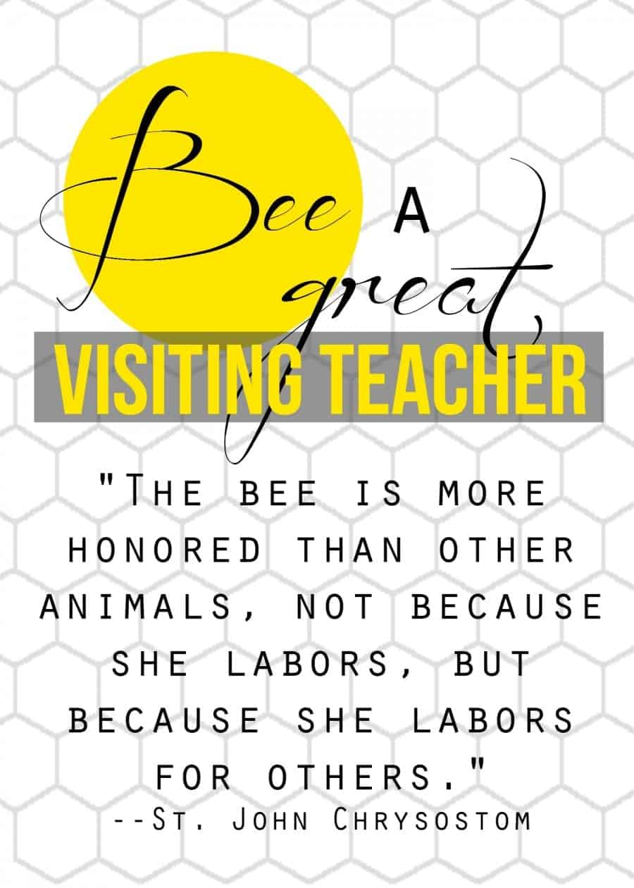 bee a great visiting teacher