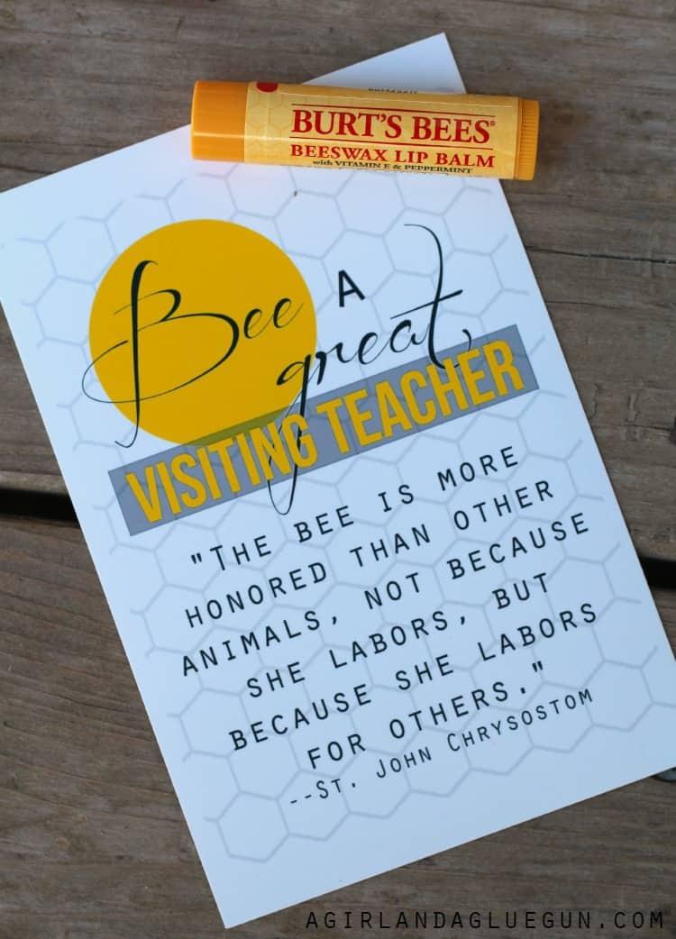 bee a great visiting teacher