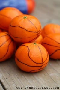 Cutie basketball treats