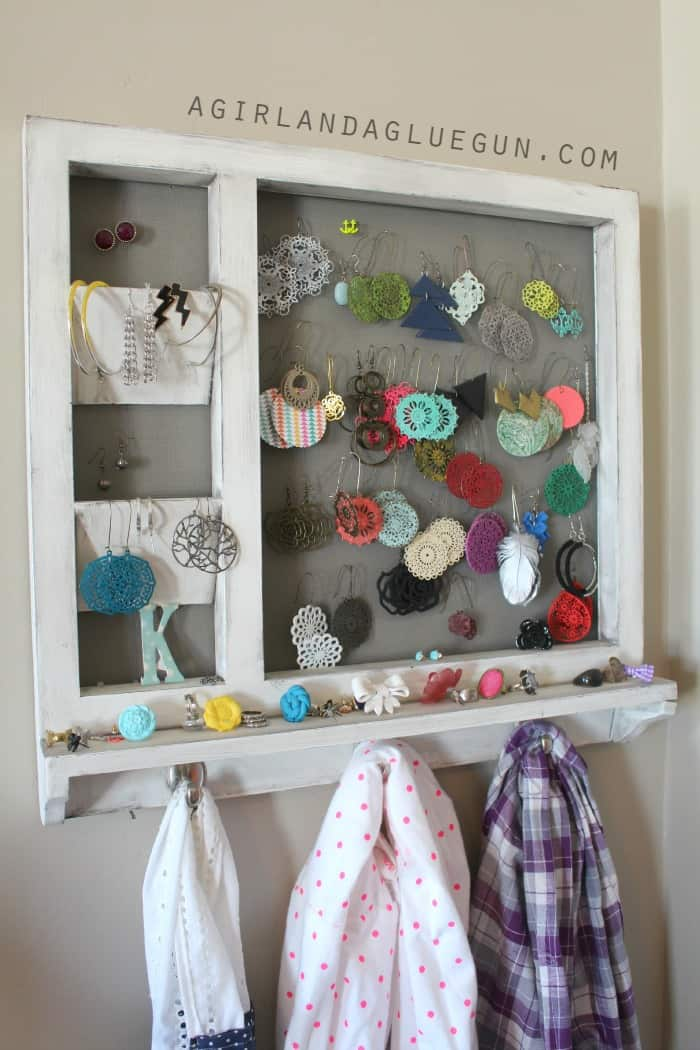 earring holder from old message board