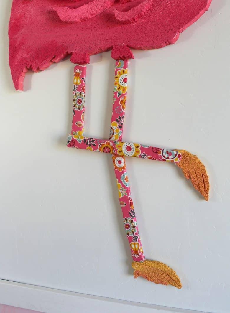 Stand Tall Giant Flamingo A Girl And A Glue Gun