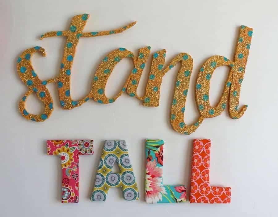 floracraft styrofoam letters