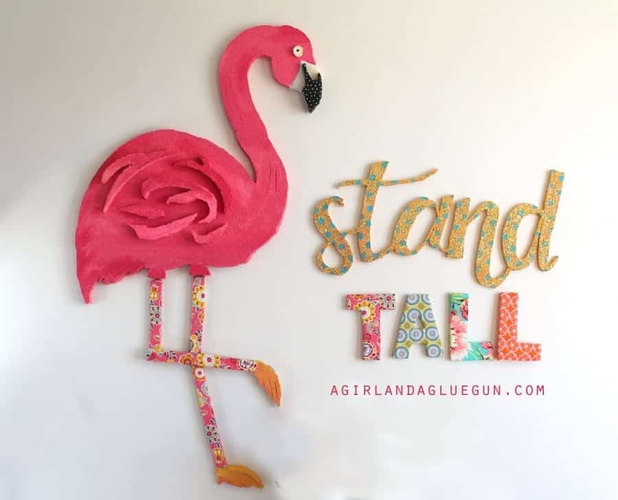 giant wall art #makeitfuncrafts