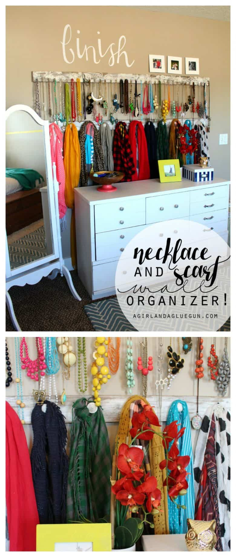 Jewelry Accessory Wall Organize Your