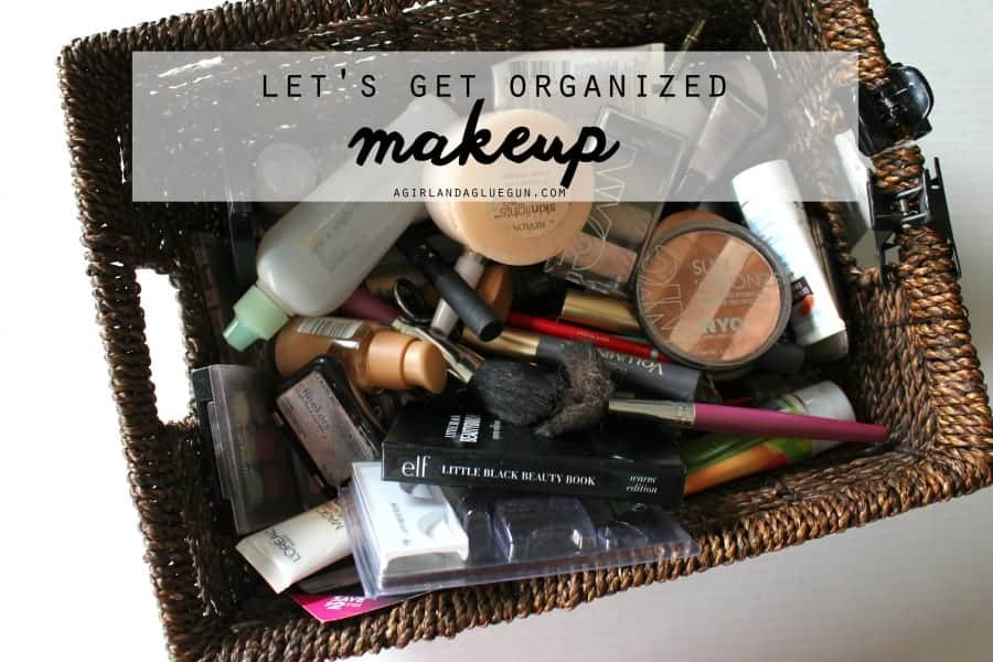 let's get organized makeup edition