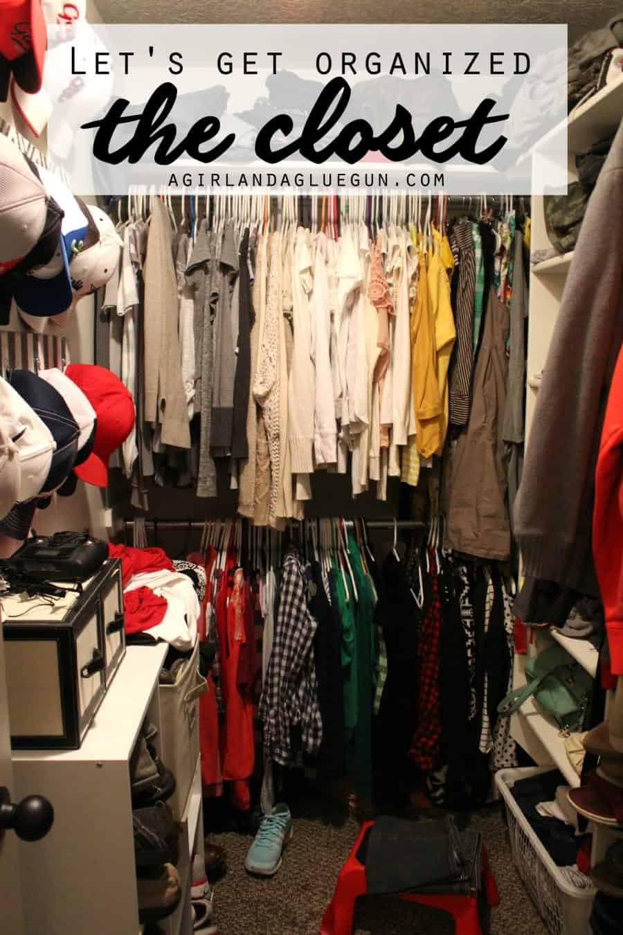 let's get organized the closet