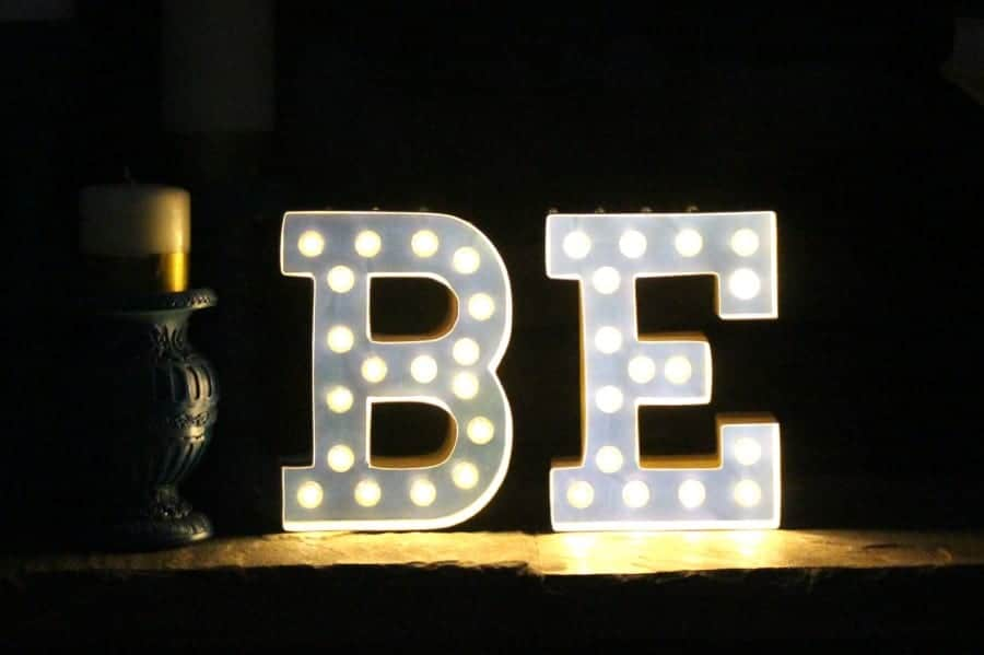 Pics Photos - Light Up Marquee Letters