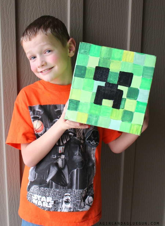 ... Minecraft Head Diy