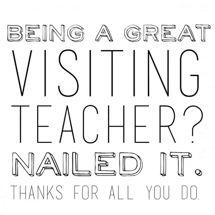 nail it visiting teaching