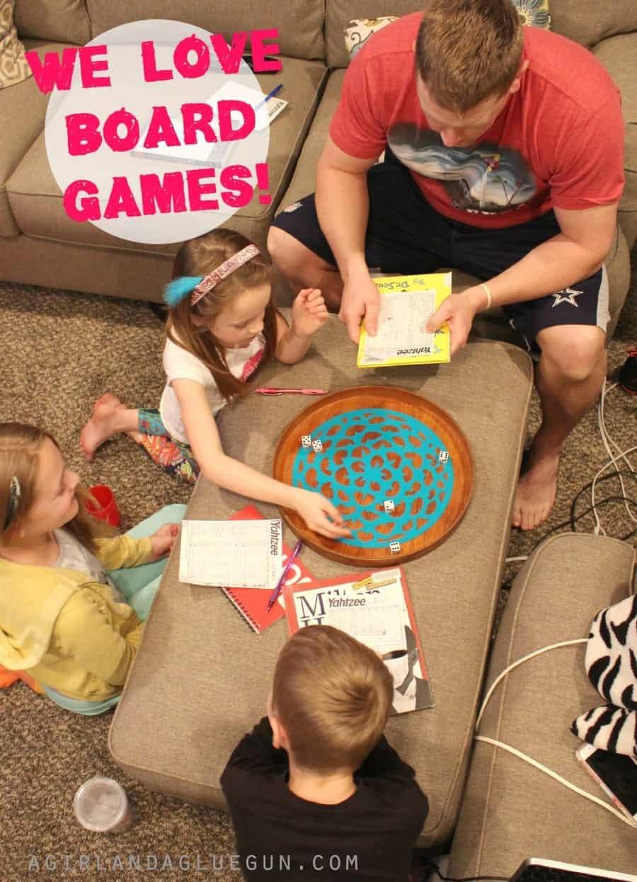we love board games