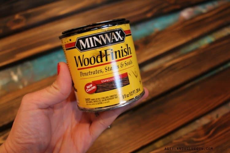 wood stain minwax espresso