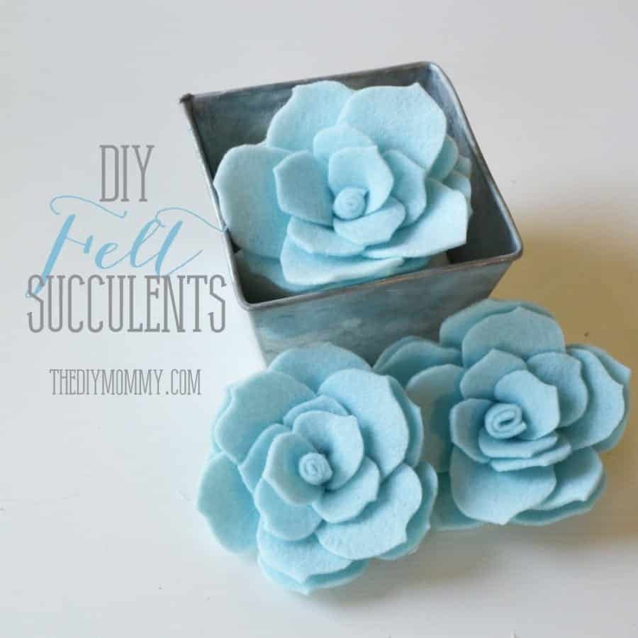 DIY-Felt-Succulents-by-The-DIY-Mommy