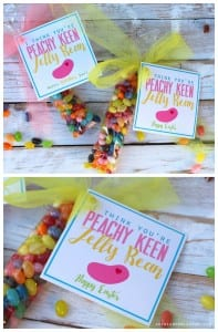 I think you're peachy keen easter printable