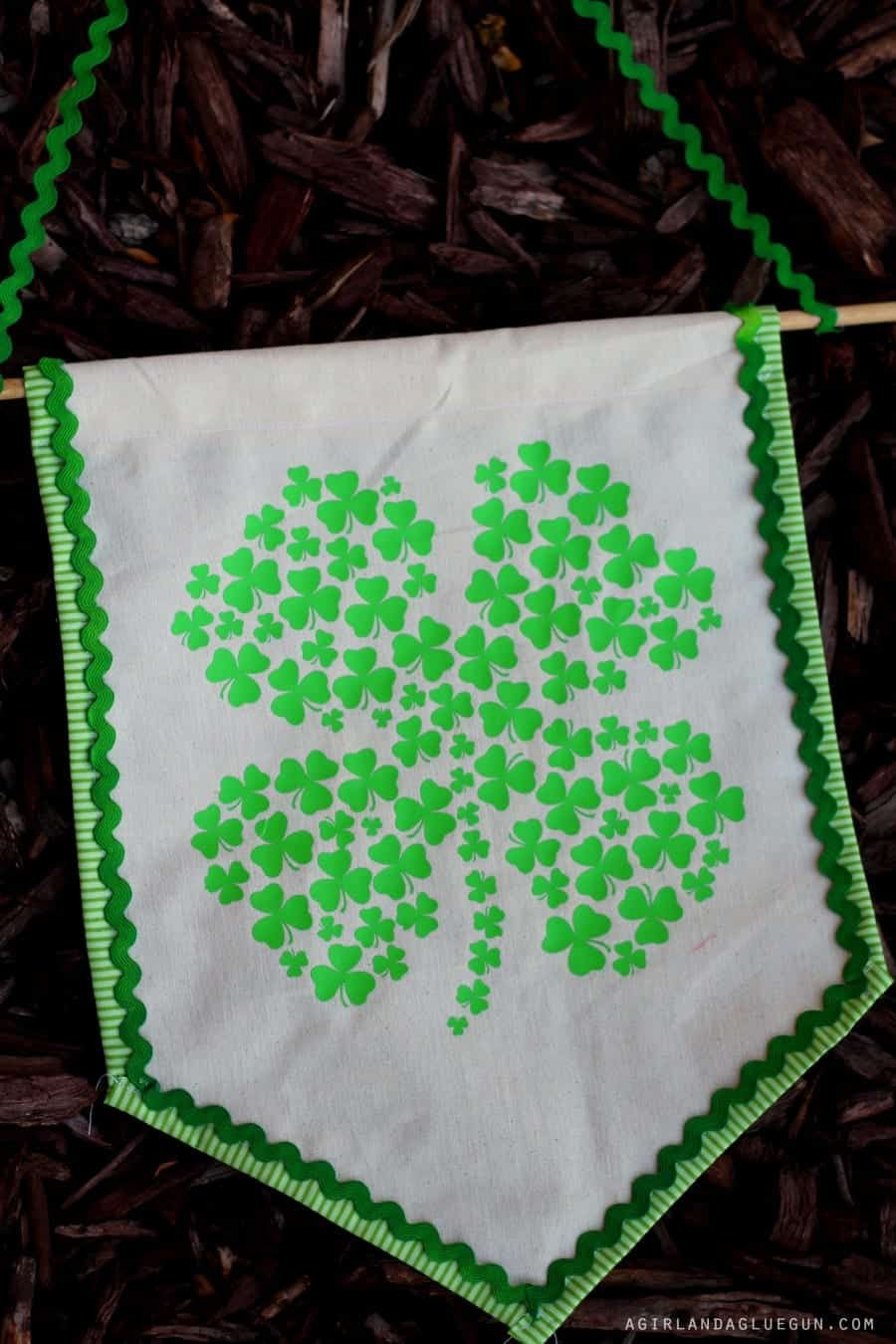 fun banner for st. patricks day