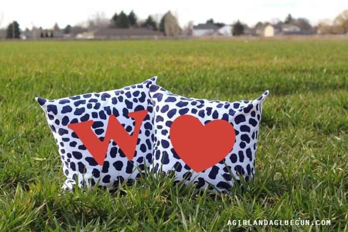 fun designs on pillows