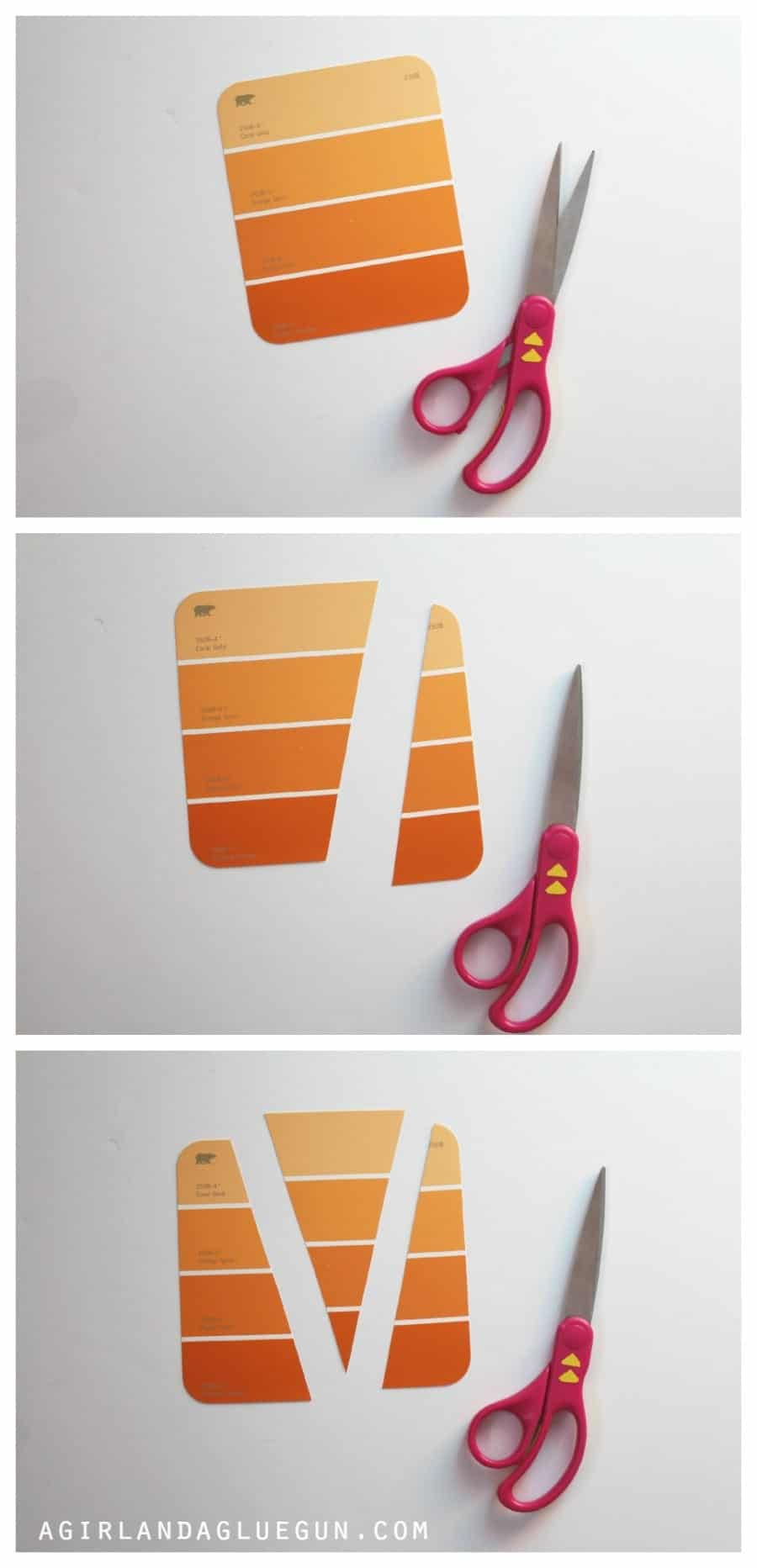 how to cut paint chip carrots