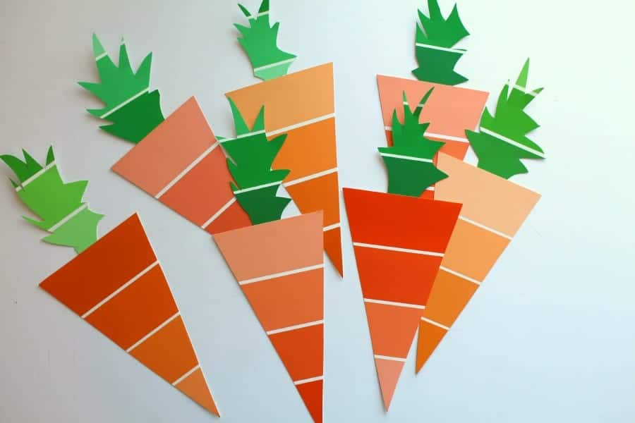 paint chip carrots