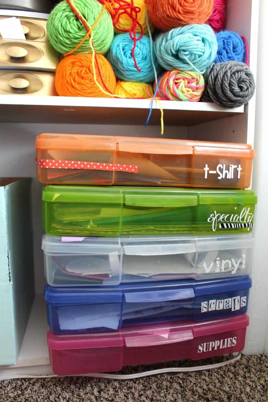 How I Store My Craft Vinyl A Girl And A Glue Gun