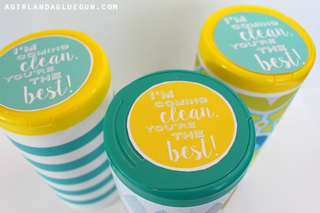 Teacher Appreciation Free Printable For Clorox Wipes A