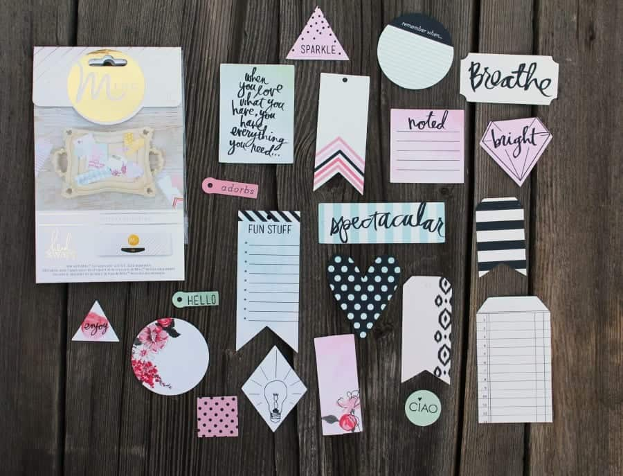 fun paper sets from heidi swapp