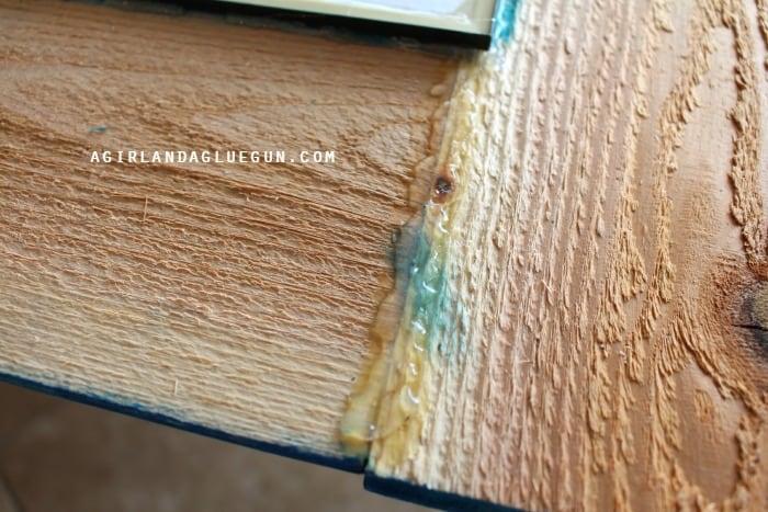 glue frame together