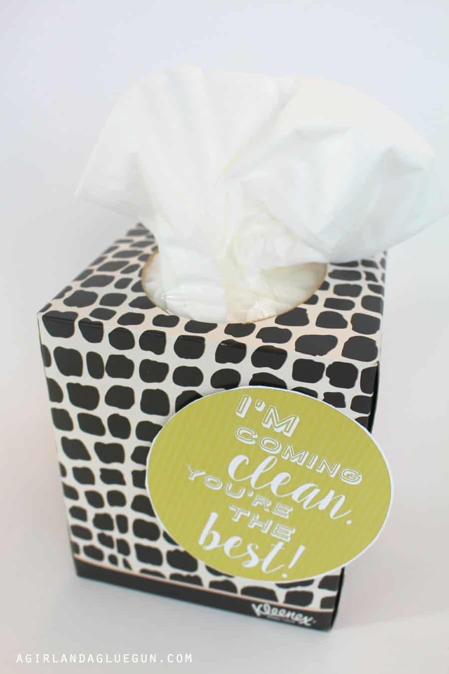kleenex teacher gift