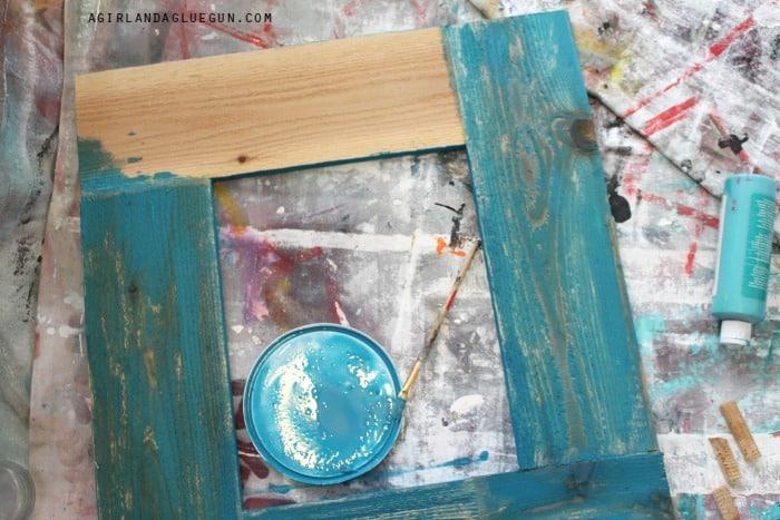 paint wood frame