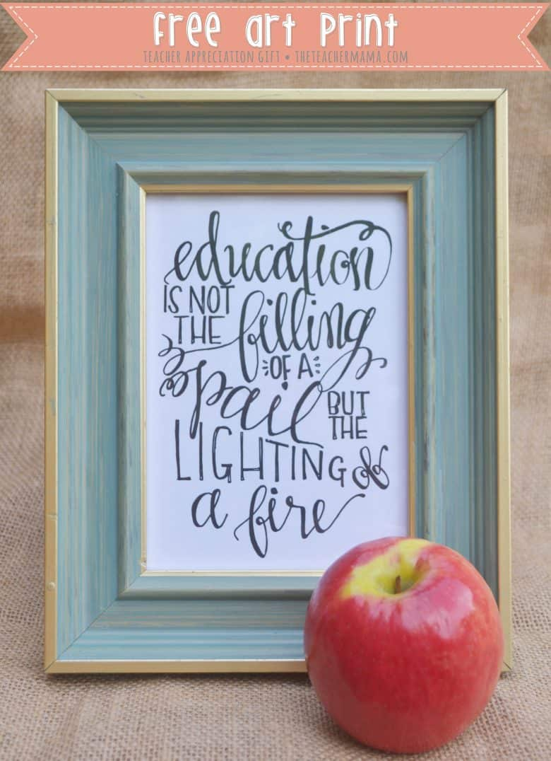 Teacher Quote Free Printable A Girl And A Glue Gun