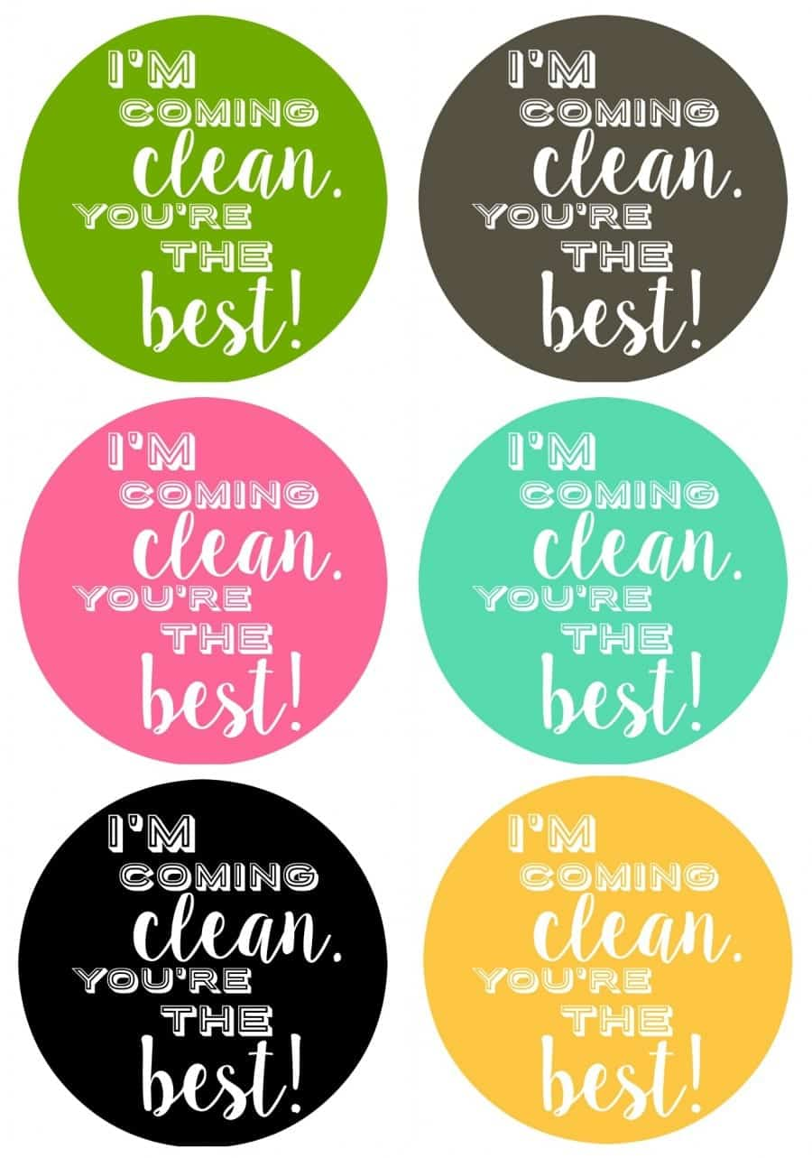 teacher printables for cleaning supplies