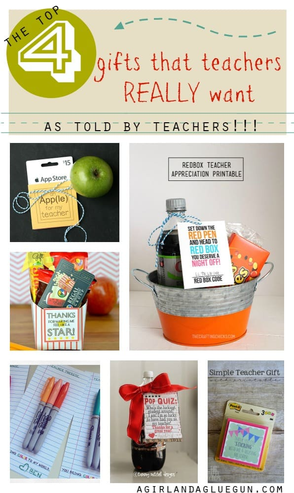 the top 4 gifts that teachers really want