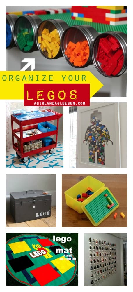 20 fun ways to organize your legos