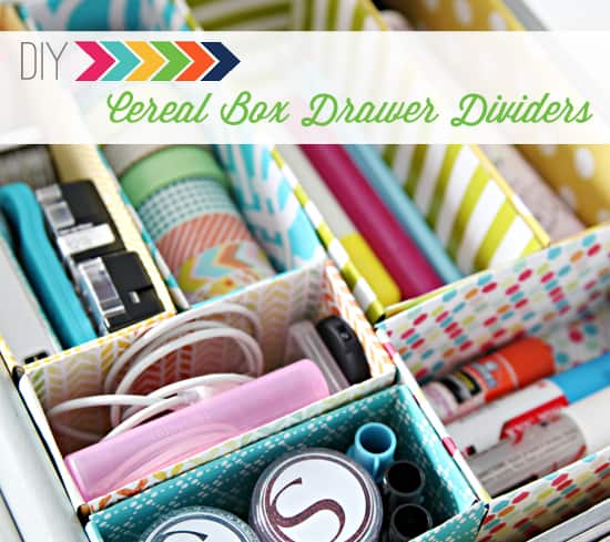 Magazine Organizers From Cereal Boxes And A Whole Slew