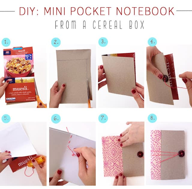 DIY-Project-Tutorial-Mini-Pocket-Notebook-Journal-Cereal-Box-2