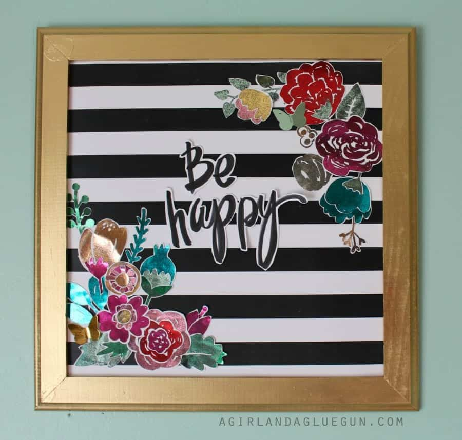 be happy printable using heidi swapp minc machine