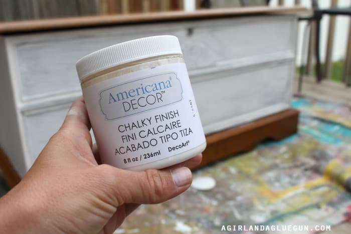 chalky finish paint americana decor