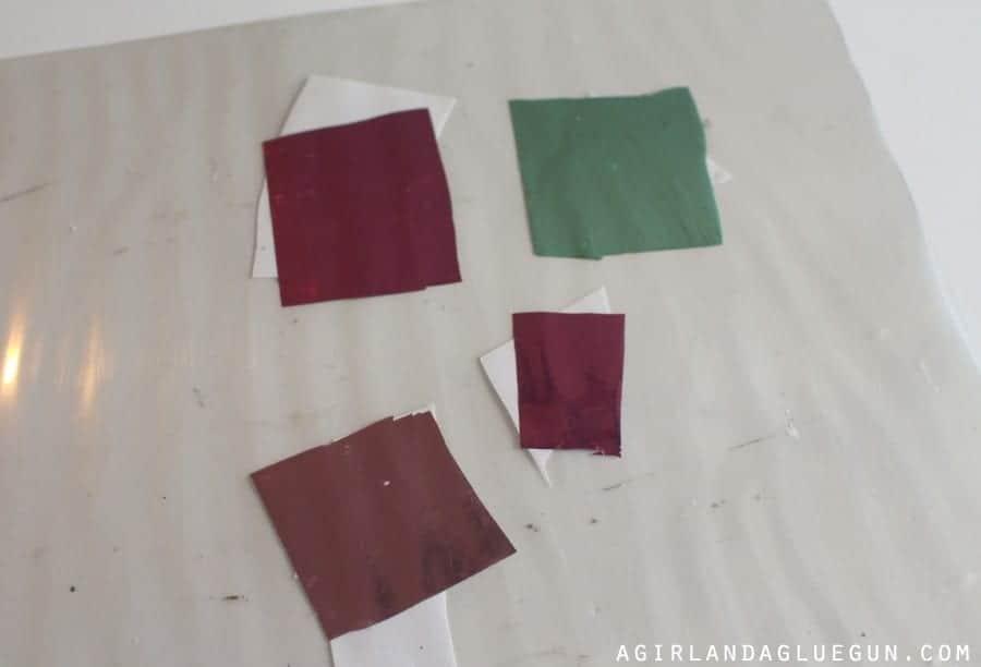 foil scraps