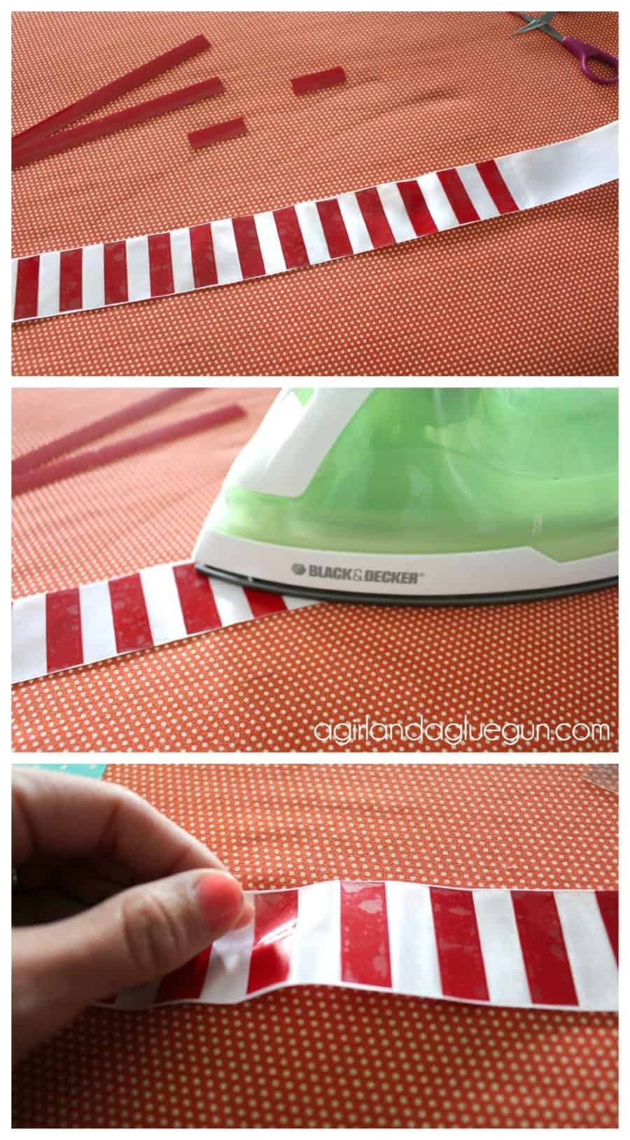 how to iron on heat transfer vinyl