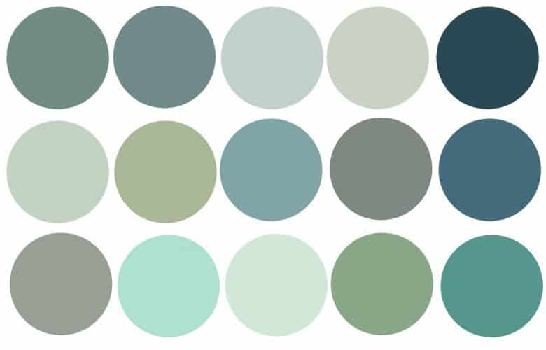 Soothing Colors Colors For Different Moods What Is The