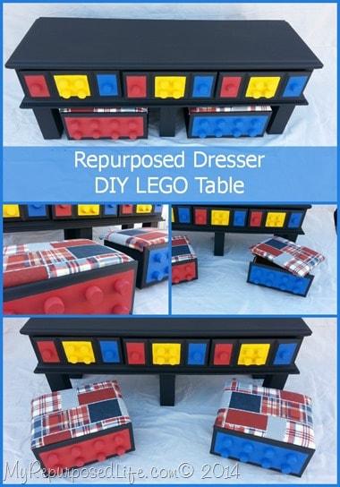 repurposed-dresser-DIY-Lego-Table