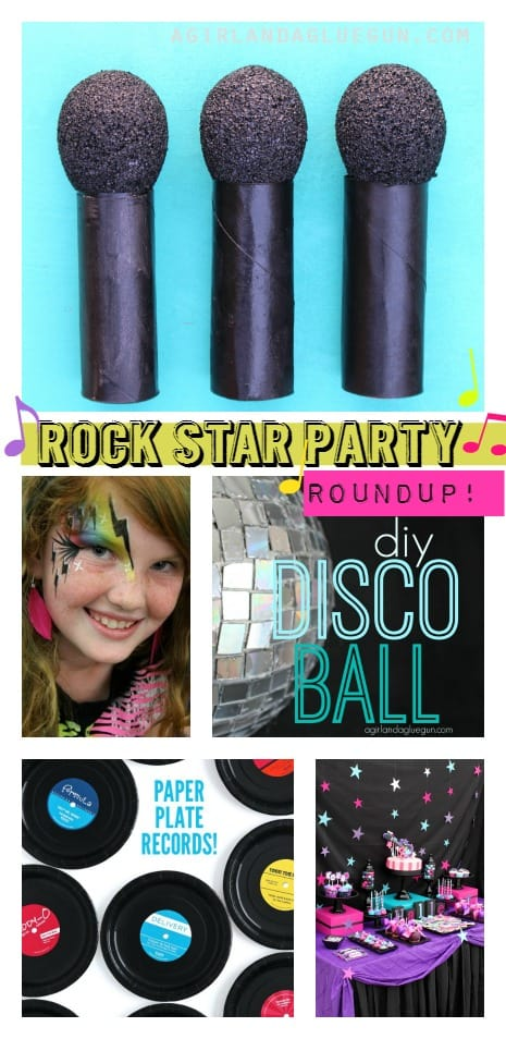 rock star party roundup ideas