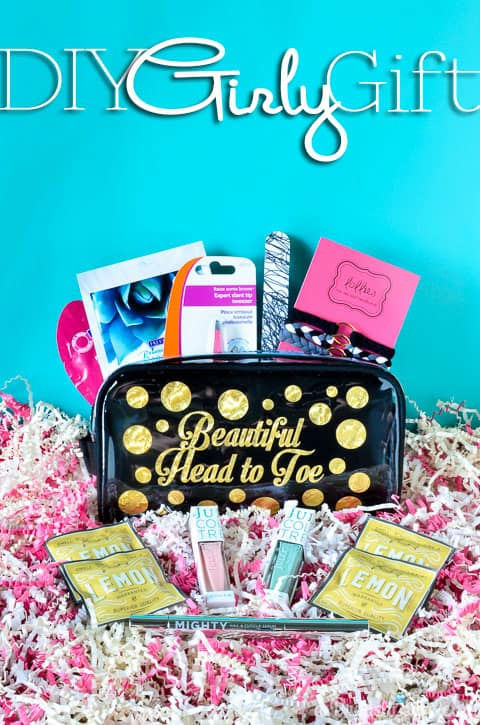 Friend Gift Makeup Bag With Text