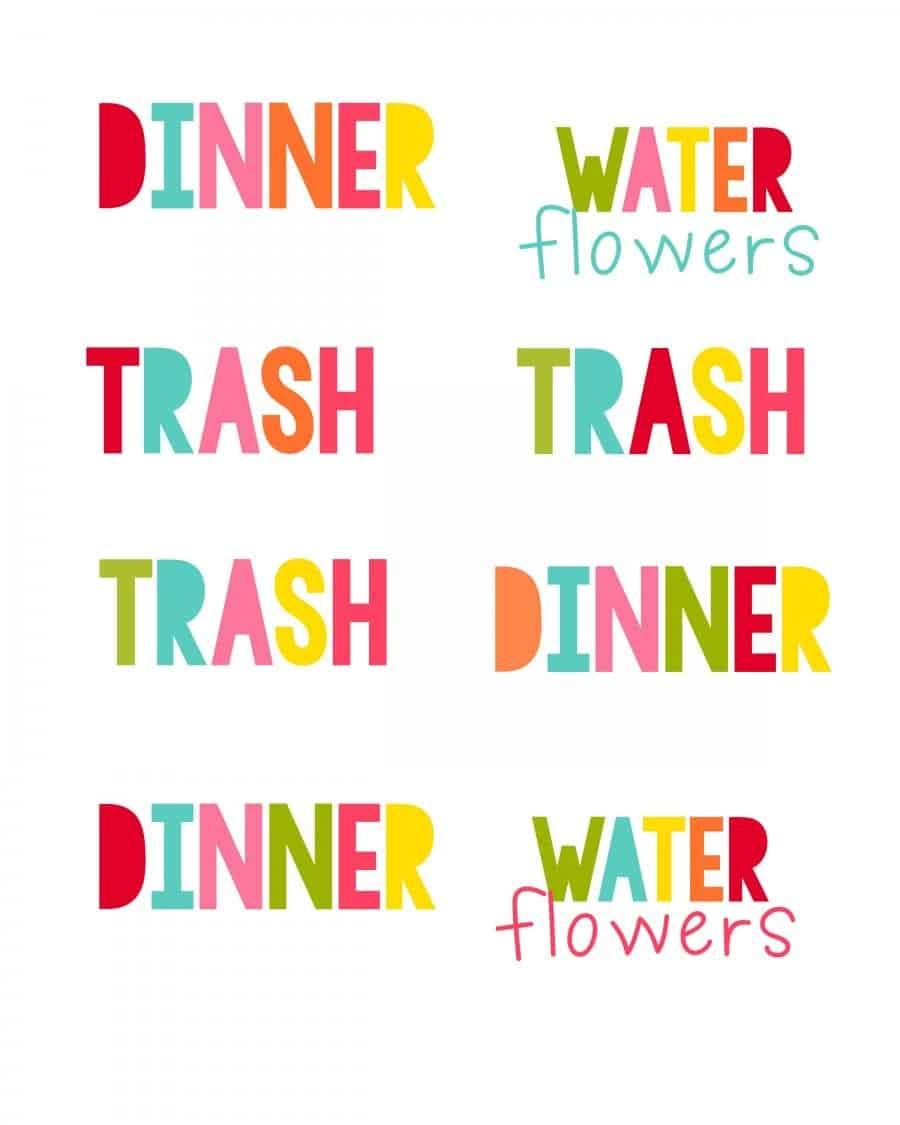 chores 4