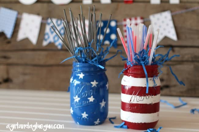 fourth of july red white and blue party