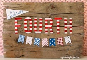 fourth of July Minc banner