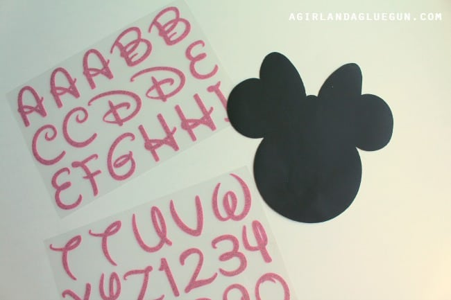 iron on mickey for mouse cake walk