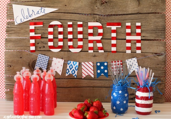 patriotic party with Heidi swapp