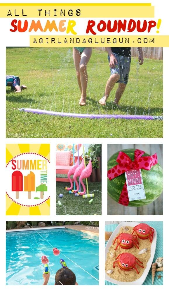 All things summer roundup a girl and a glue gun