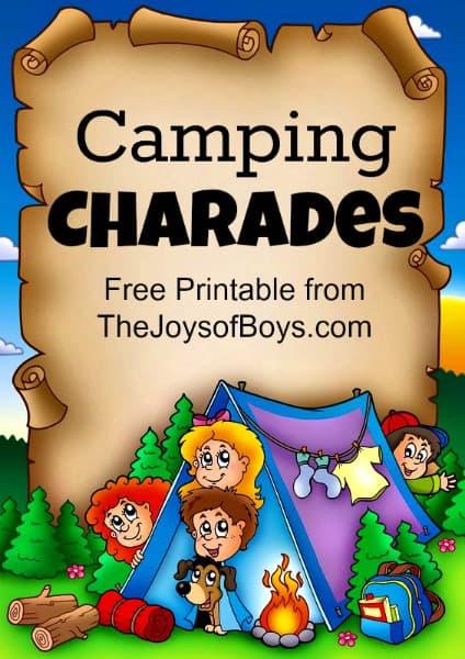 Camping-Charades