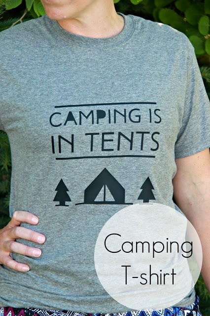Camping Tshirt
